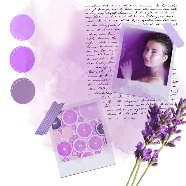 #freetoedit #purple #lilac #lavender #colorpalette #lavender #washitape #polaroid