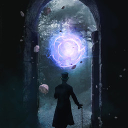 freetoedit doorway portal rocks magic
