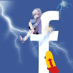 freetoedit anime animeedit hxh hxh2011 kiruazoldik killua zoldik killuazoldyck kirua hunterxhunter hunter skate skateboard logo facebook logoedit app logoanime animes facebook'slogowithkillua logohxh facebooklogo facebooklogohxh