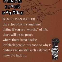 freetoedit blacklivesmatter endracismtoday blm acab endracism 1312 racism racismisbad