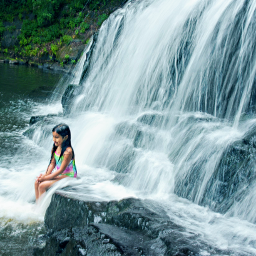 freetoedit outdoorphotography waterfall pose4father