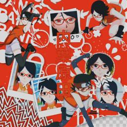 freetoedit anime naruto_shippuden sakura naruto uchiha sasuke saradauchiha
