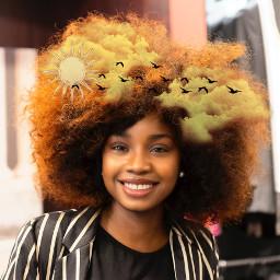 unsplash freetoedit echairart hairart