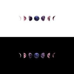 freetoedit headertwitter twitter header black white moon moonaesthetic