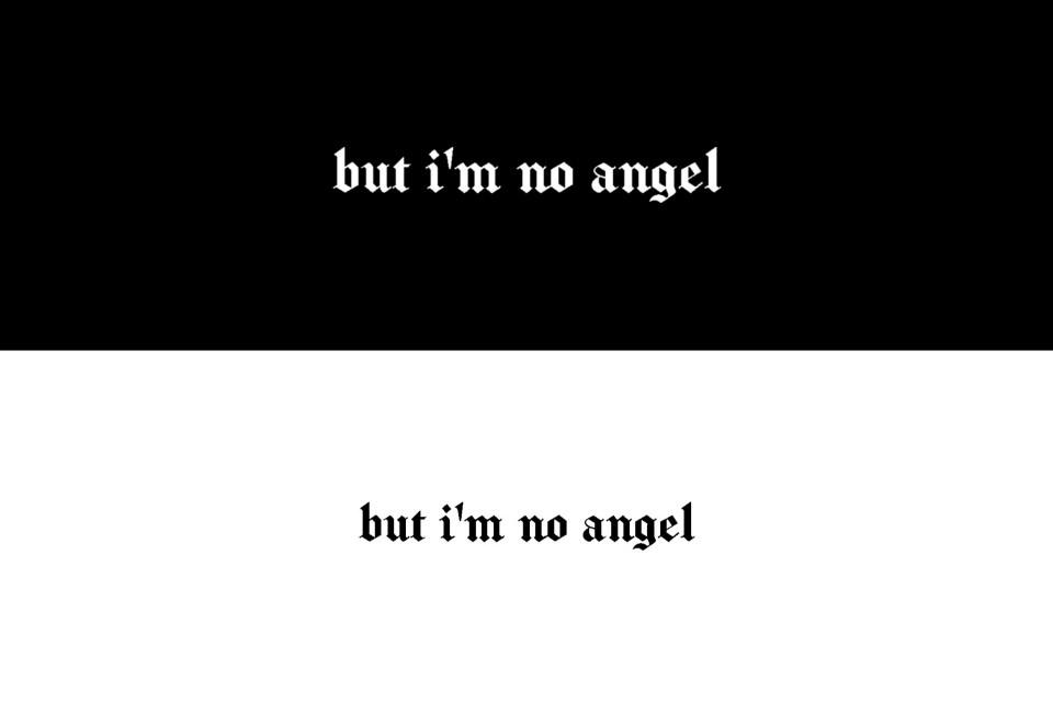 header ANGEL black n white      #freetoedit #header #headertwitter #twitter #blackandwhite #black #white #angel #noangel