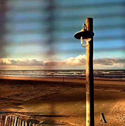 beach zandvoort myphoto shadowmask bluehour freetoedit