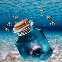 freetoedit picsart editedwithpicsart editedbyme myedit madewithpicsart heypicsart playingwithpicsart remixedwithpicsart myremix remixes underwater fantasyart