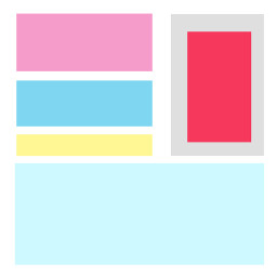 color colors colorful pallet pallete palette colorpallete colorpalette red pink yellow blue lightblue gray redpink pinkred freetoedit