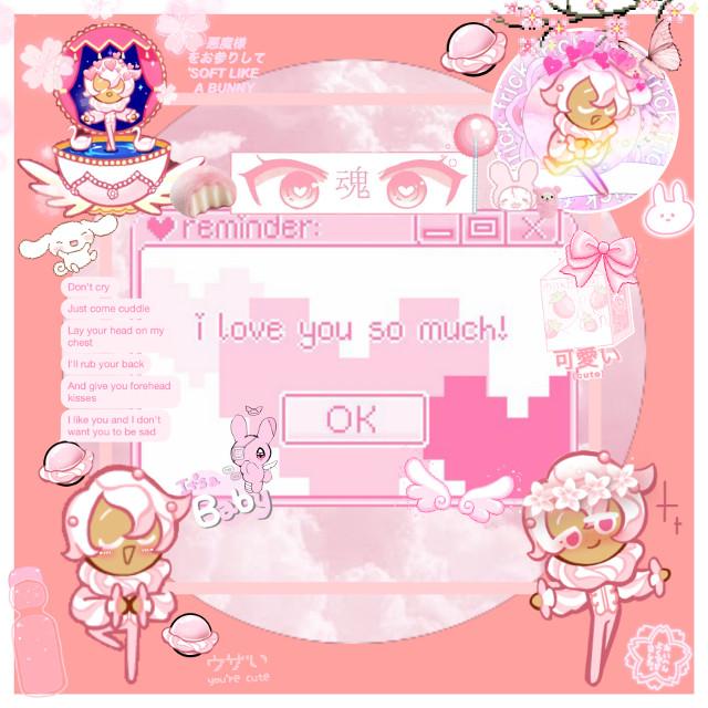 #cookierun #uwu #pink #pretty #cute #kawaii #pastel  #freetoedit