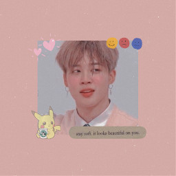 freetoedit bts jimin jiminie bangtansonyeondan runbts aesthetic tumblr pikachu