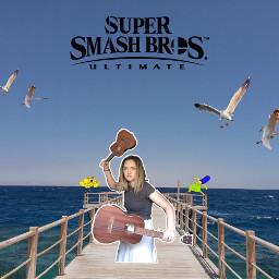 freetoedit mxmtoon supersmashbros meme birds spongebob marge simpsons