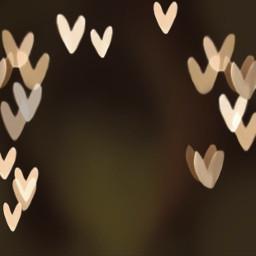 background backrounds hearts lights bokeh blurredbackground freetoedit