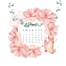 freetoedit august challenge butterfly flower srcaugustcalendar augustcalendar
