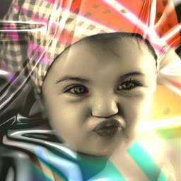 efects mask exposure doodlemask dobleexposure baby happychild freetoedit colors