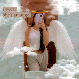 freetoedit vip picsart hello ily girl angel editing effects wingsangel gurl white