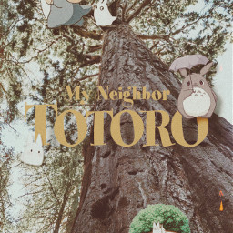 freetoedit totoro totoroedit ghibli studioghibli anime movie aesthetic aestheticedit cute kawaii pastel light soft softaesthetic softedit lightaesthetic lightedit uwu vintage