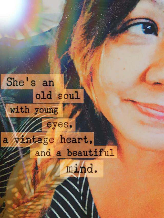 #shewas #oldsoul #young #eyes #vintageheart #beautifulmind #caligirl #nomakeup #braidedhair #smileeveryday #mood #seeme #shine #love #mymind #myeye #bchez #photography #edit  #freetoedit