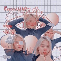 the kpopedit ryujin itzy kpop girlgroup