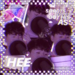 suugi edit aesthetic purple sparkles