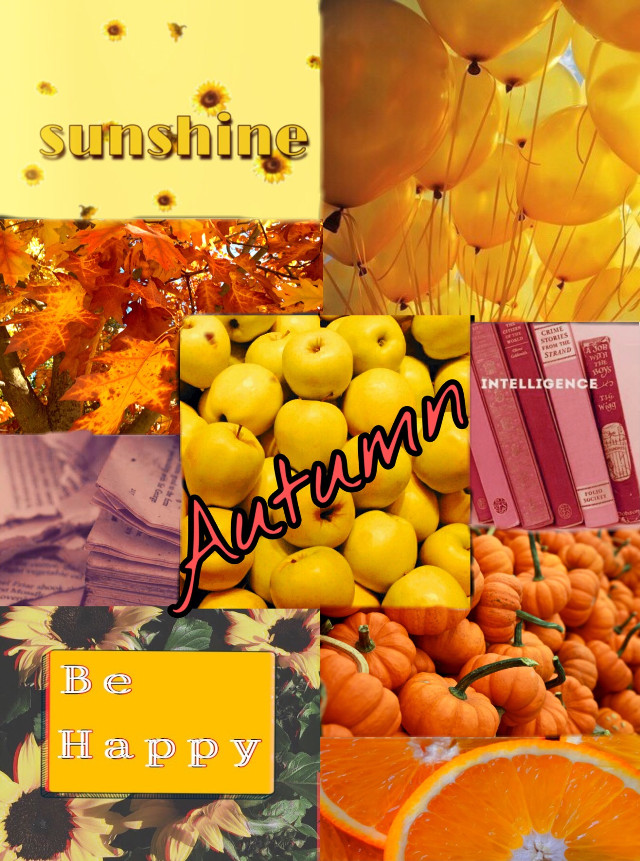 This is what my personal aesthetic is. Happy, colorful, and bright 😊💛🍂 #freetoedit
