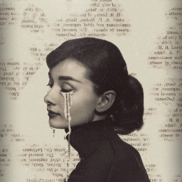 freetoedit paper newspaper vintage old dust noise retro vintageaesthetic vintagephoto tears papereffect backgroundedit effects vignette wall girl sad emotions edit photoedit picsart green heypicsart myedit