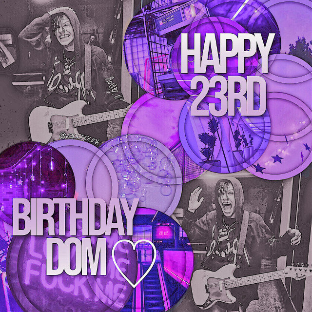 new edit bc i havent posted in a while  (complex edits are coming back soon i swear, im just waiting on some premades n masks :3)  HAPPY BORDAY DOM I LOVE YOU GO HAVE SOME STRAWBERRIES AND KISS ADAM AND TOM BC WHY NOT WE LOVE YOU JANFNNANFNAN #yungblud #dominicharrison
