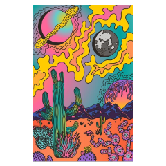 freetoedit alenkaart1 pintrest interesting psychadelic background collage vsco colorful art drawing graphic graphicart visual trippy hippie cactus planet moon desert