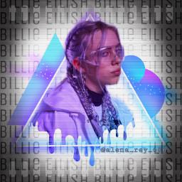billieeilishfanedit billieeilish ilovebillieeilish billie purpleandblue drippingeffect triangles shapes alena_rey_686 mask masks braids frenchbraids lovebillieeilish freetoedit