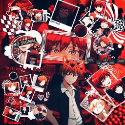 freetoedit anime animeedit assassinationclassroom karmaakabaneisthebestuwu karmaakabane karmaedit edit aesthetic aestheticedit
