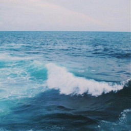 ocean freetoedit sea water blue wave waves vibe vibes aethstic california nature beach travel photography summer sky rain storm calm