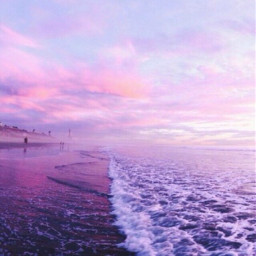 freetoedit purple vibe vibez ocean sea beach sun sunset sky blue california photography nature summer aethstic pretty beautiful love