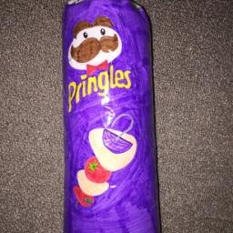 pringles bbq purple papersquishies freetoedit