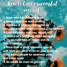 help tips account successful accounthelp edit freetoedit remixit aesthetic tags use helpful phontopicsartandpolarr image tiktok likesaveandrepostpls art yep