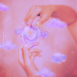 magic purpleaesthetic makemagic hands aestheticedit freetoedit