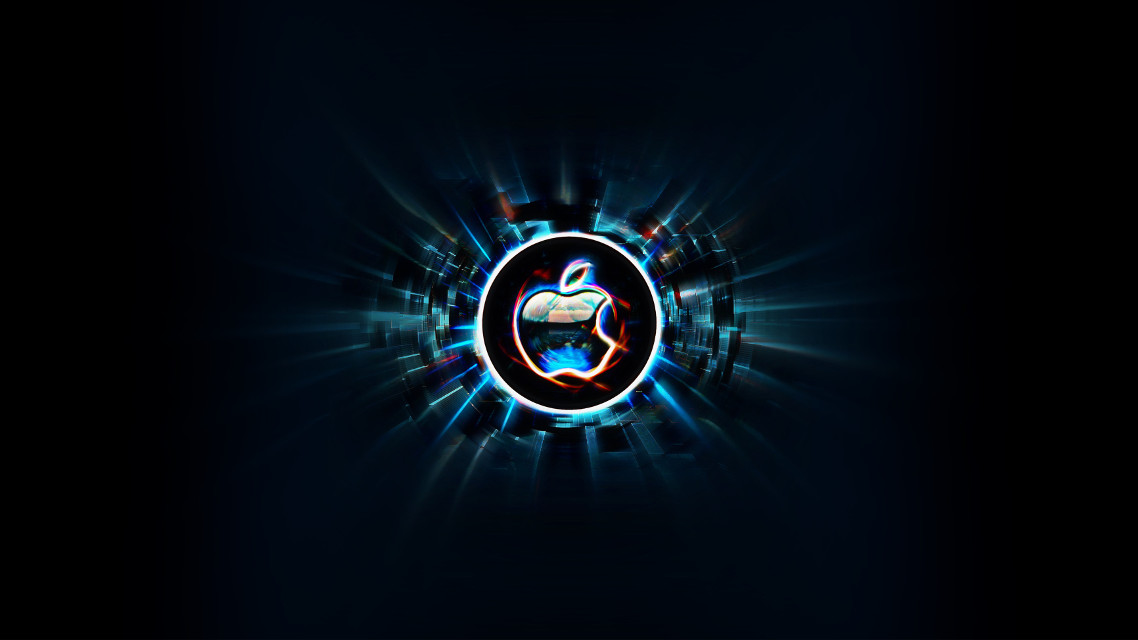 #freetoedit #apple #computer #logo #interesting #art #cool #lights #mac #jobs #night #party #knowskilz #remixme #wallpapers #backgrounds #dark #black #neon #pretty #303