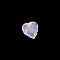 freetoedit gem heart pastel pastelaesthetic purple rhinestone pink cute kawaii sticker