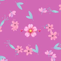 pink emojis wallpaper backgrounds background wallpapers pinkaesthetic flower flowers floral floralprint bored