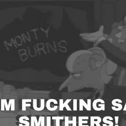 mrburns smithers thesimpsons meme cursedimage cursed cursedmeme thesimpsonsmeme cursedmemes cursedimages help memes