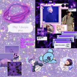 freetoedit rapmonsterbts leaderbts purple kimnamjoon