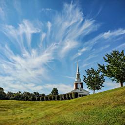 freetoedit church landscape dramaticsky