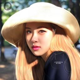 rose blackpink blackpinkrose kpop kpopedit kpopart 로제 블랙핑크 채영 freetoedit