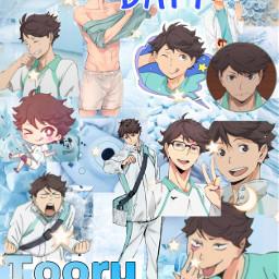 freetoedit haikyuu cuteanimeboy cute anime haikyuuedit anime_edit oikawa hot