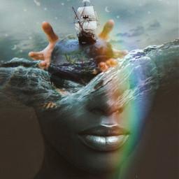 freetoedit remix picsart surreal fantasy nature