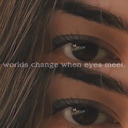 eyes eyecloseup eyebrows eyecontact freetoedit quotes sayings mind girl germangirl aesthetic aestheticedit vintage vintageeffect