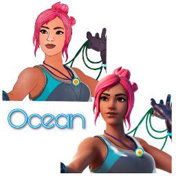 freetoedit ocean fortnite fortniteart