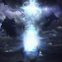 freetoedit harrypotter patronus dementor dementors dementores wizardingworldofharrypotter hogwarts azkaban expectopatronum ircmagicjar magicjar