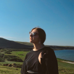 freetoedit woman girl outside outdoors lake nature naturelover aesthetic remixme photography photoshoot