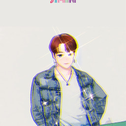freetoedit jimin parkjimin dynamite colourful people music album kpop kpopedits kpopwallpaper aesthetic art photography photoshoot summer cartoon cartoonaesthetic interesting jeans jacket redhair comeback snow party