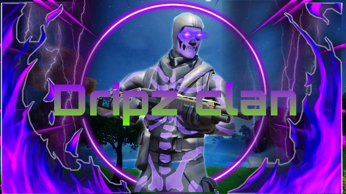 Fortnite#fortniteedit#freetoedit#remixit#clanlogo#fortnitelogo#Dripzclan#Dripzclanlogo#cool#skulltrooper#purple