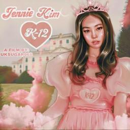 jennie kimjennie kim blackpink k-12 shinny pink fantasy manipulationedit manipulation kpop melaniemartinez melanie martinez school shine aesthetic girl draw kpopidol korean singers film movie         🍭 k